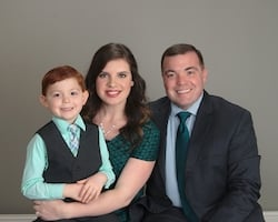 Pastor John Lafreniere and family