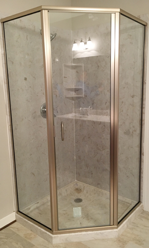Shower Door With 3 Sides