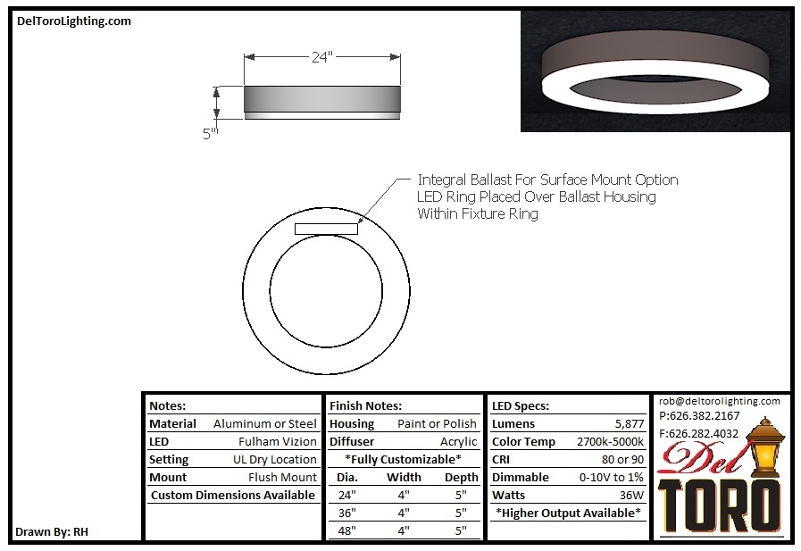 002C-Ring Flush Mount
