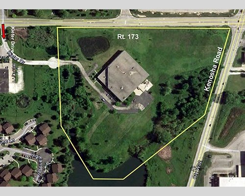 22 Acre Landsite in Zion at 3905 Rt. 173 Illinois