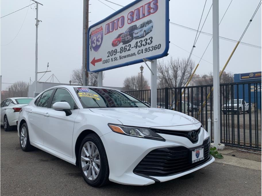 2018 Toyota Camry LE Miles:43,828 Drive:FWD Trans:Auto, 8-Spd SeqShft Engine:4-Cyl, 2.5 Liter VIN:112917