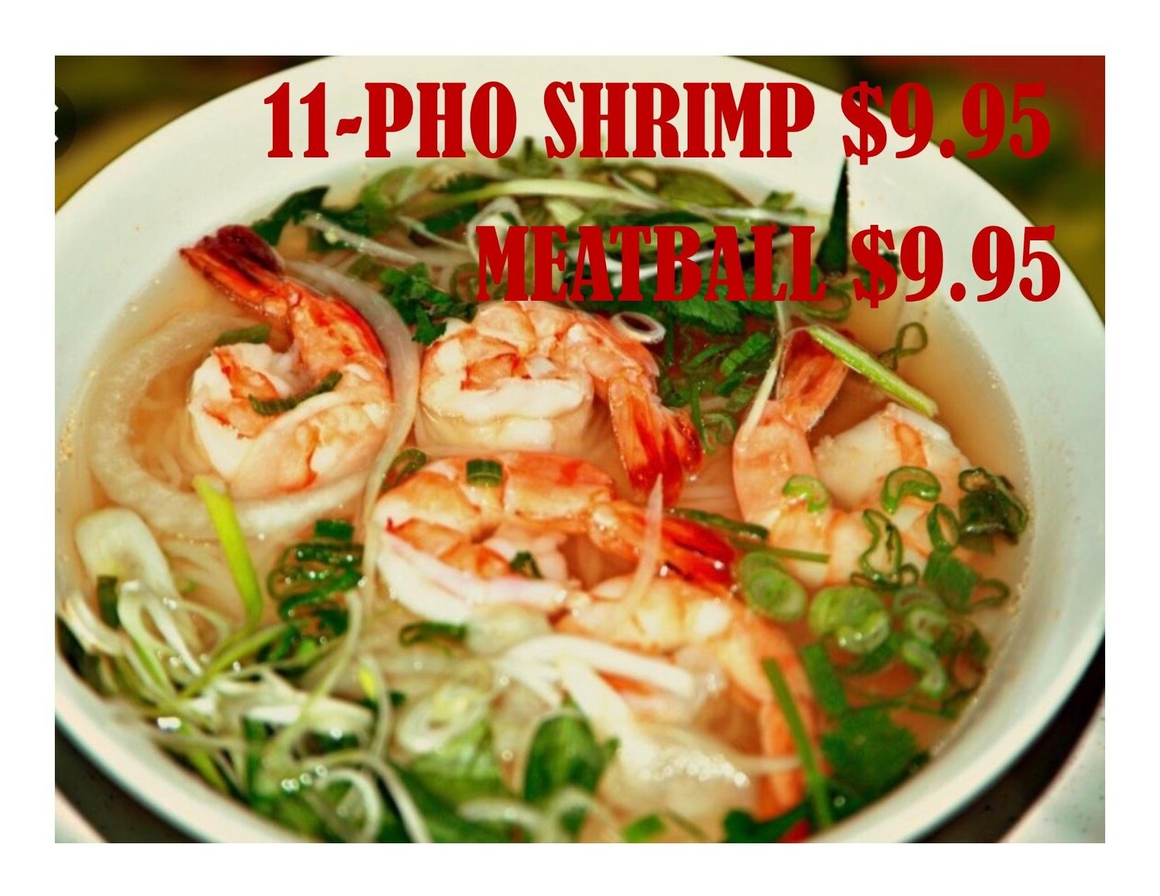 VIETNAMESE PHO & GRILL - Our Menu