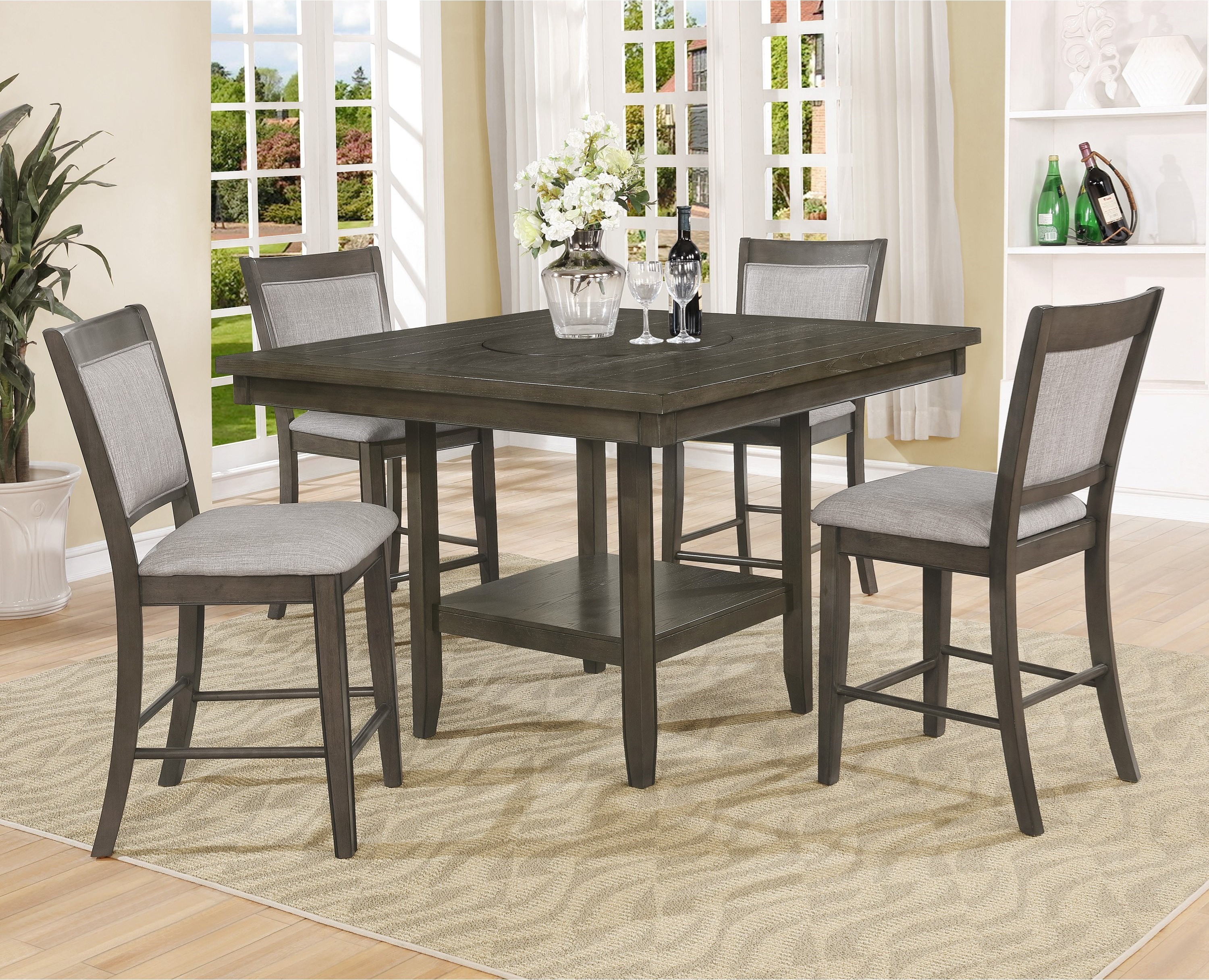 2727GY  Pub Dining Set