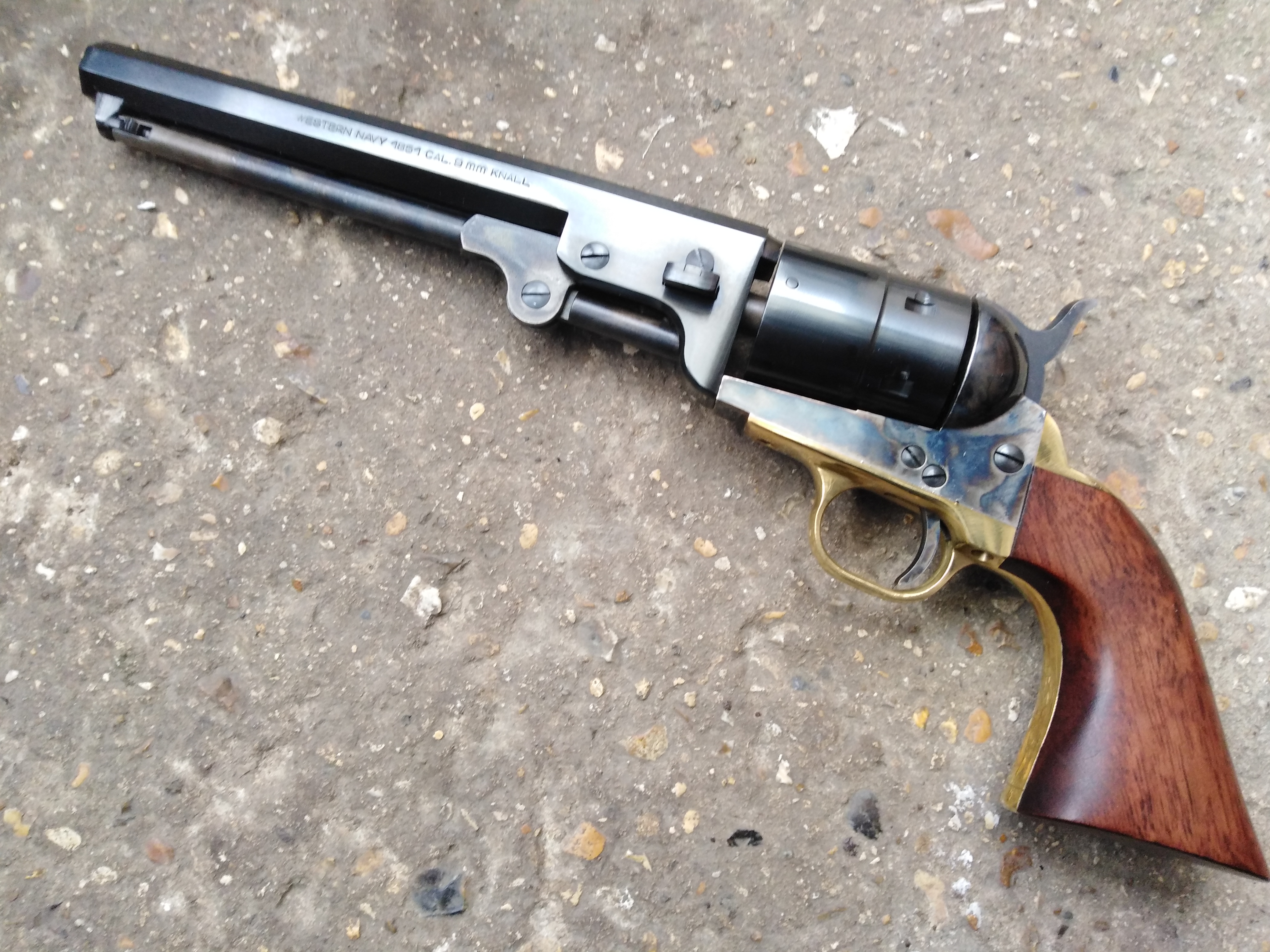 Pietta Steel Colt 1851 Navy