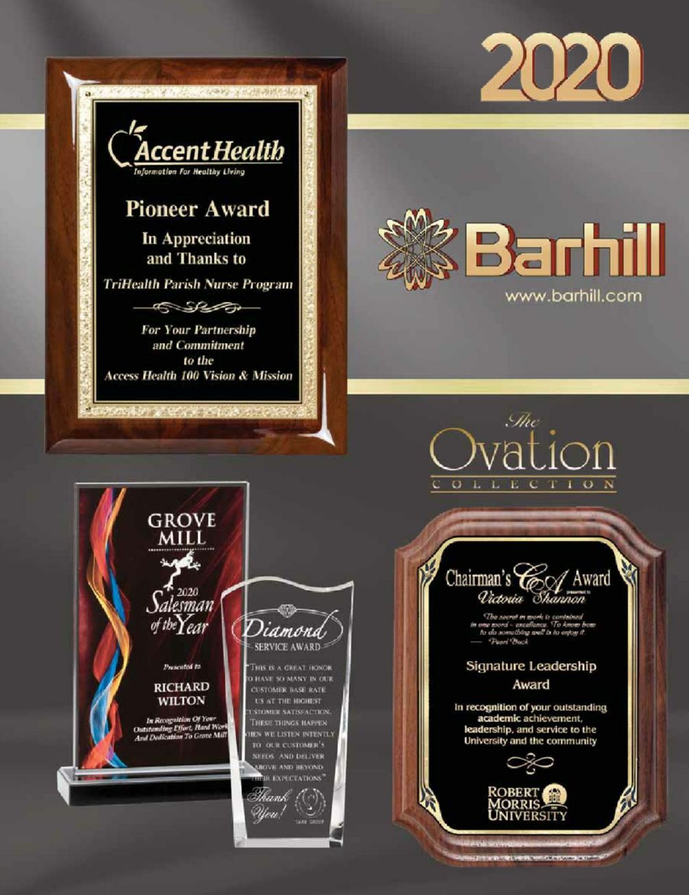 Plaques & Gifts Click for catalog