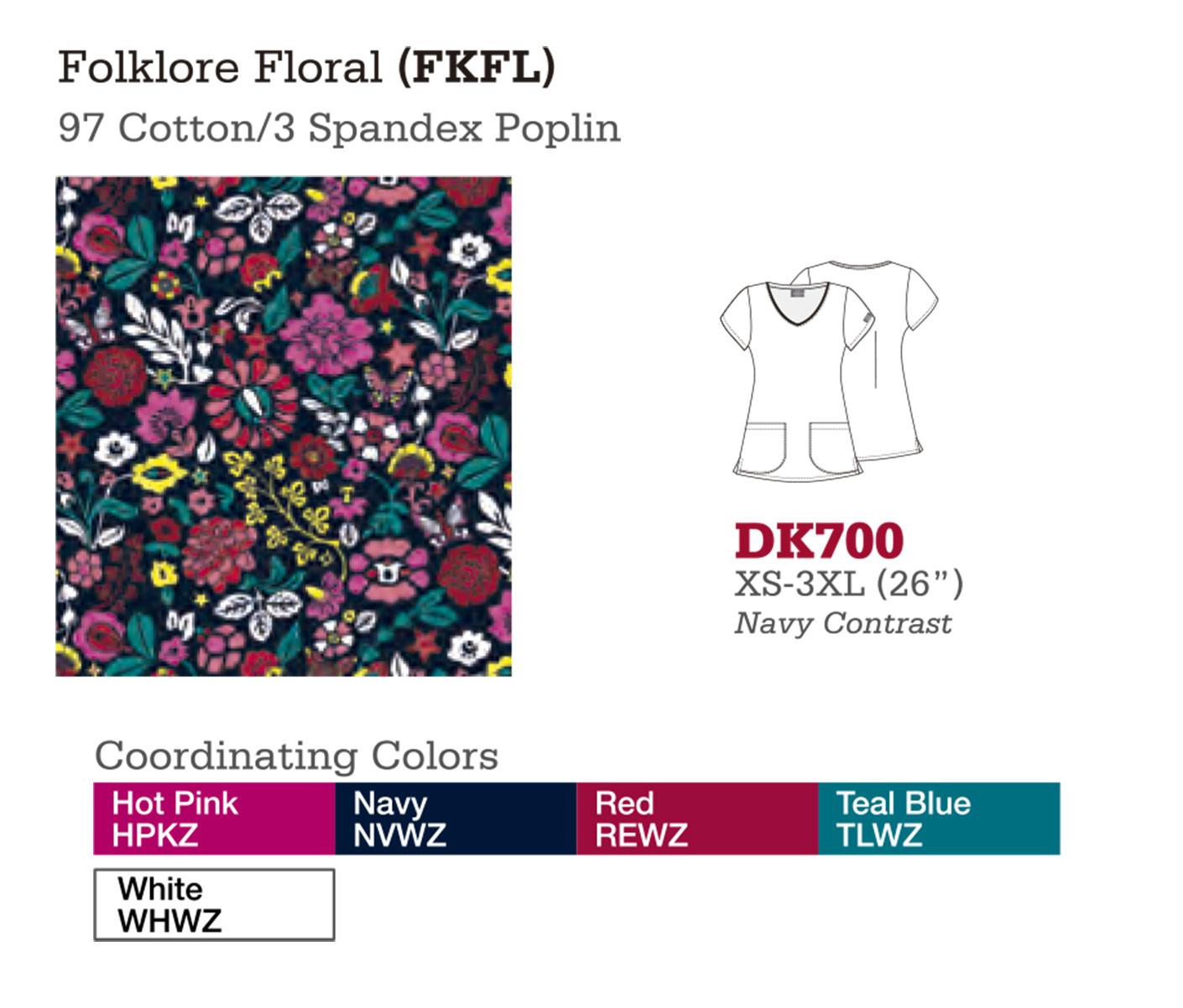 Folklore Floral. DK700.