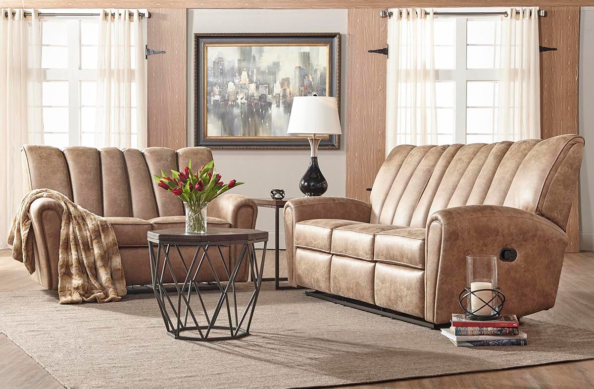 800 Reclining Sofa and Loveseat