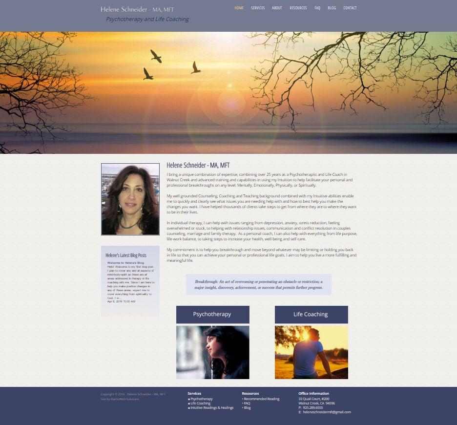 Helene Schneider, MFT Website