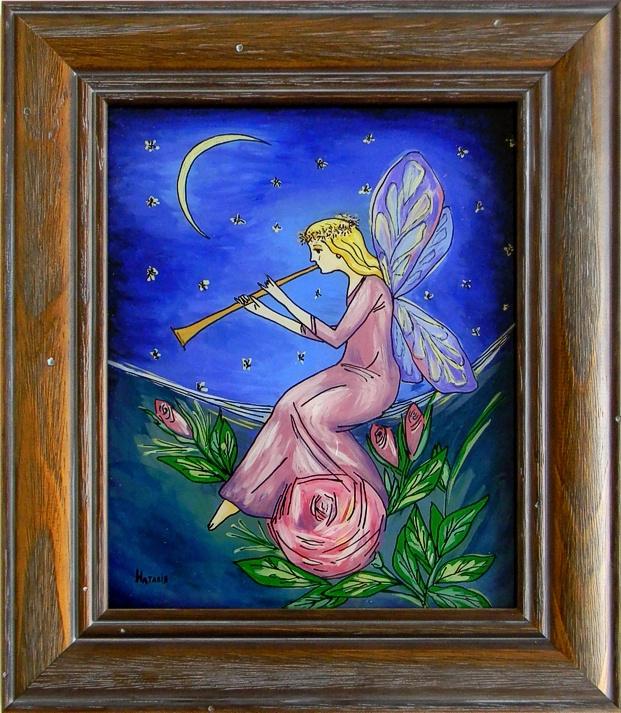"""Evening Melody"" by Nataliya Guchenia  Size - 10""H X 8""W $175.00"