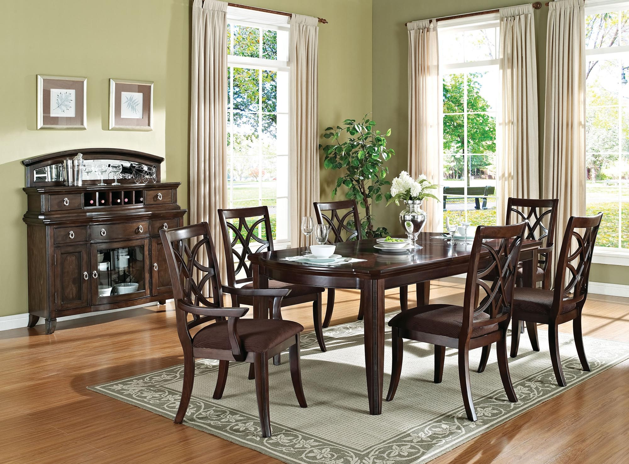7 Piece Dining Suite Table