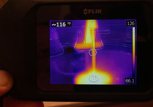 Thermal Image of Sink