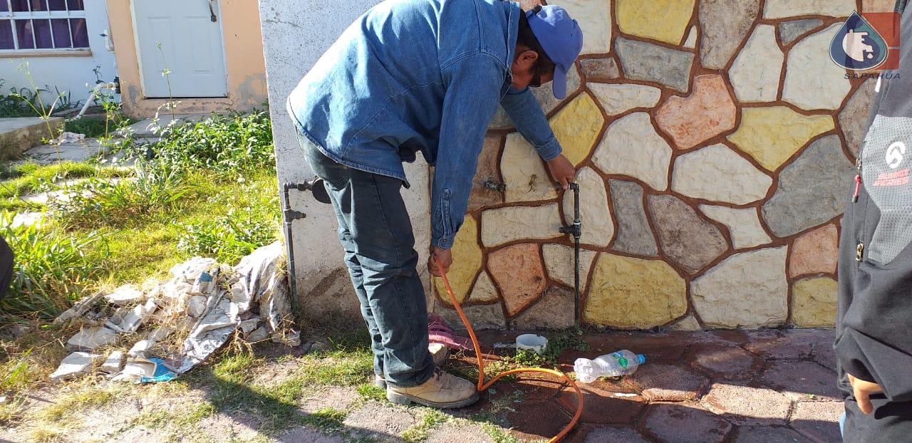 SOPLETEO DE  TOMA EN FRACCIONAMIENTO LOS ÁLAMOS