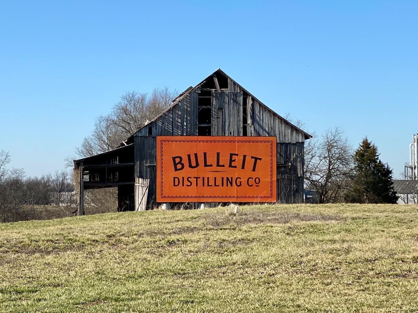 Bulleit Barn -Bulleit Distillery - Bulleit Visitor Experience