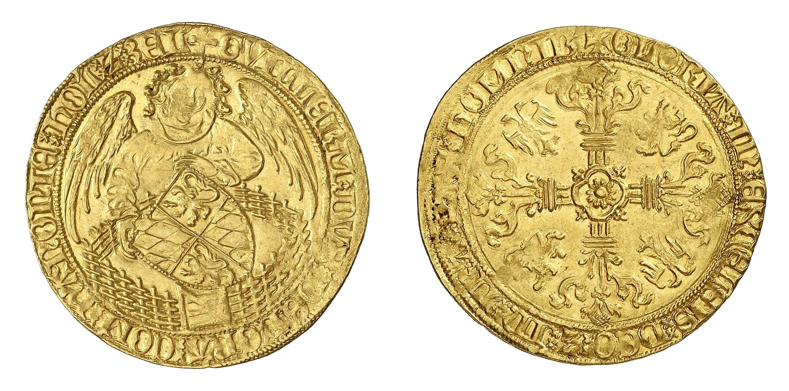William IV, 1404-1407 gold coin