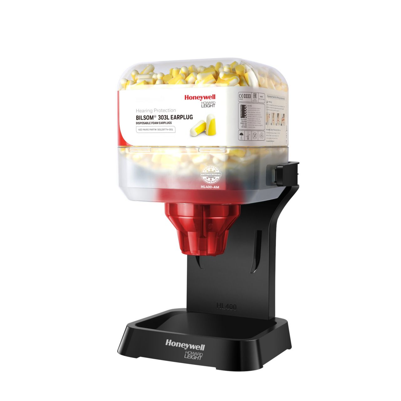 Antimicrobial HL400 Dispensers for Earplugs