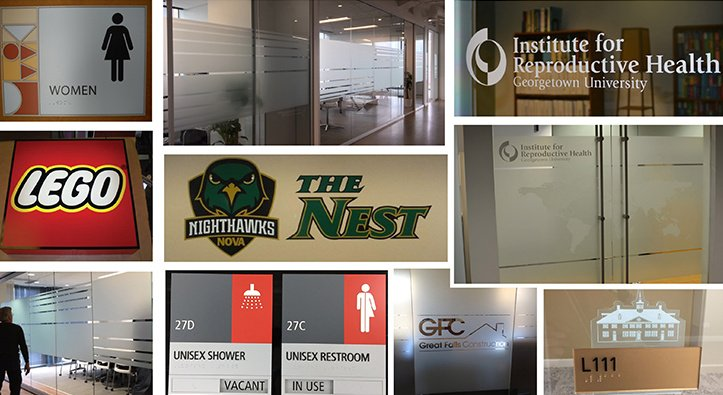 Interior Signage Products