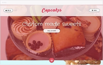 Website Showcase - Sweets Shop