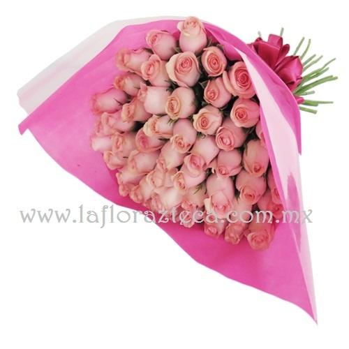 Mom-128 50 Rosas Precio $1,000