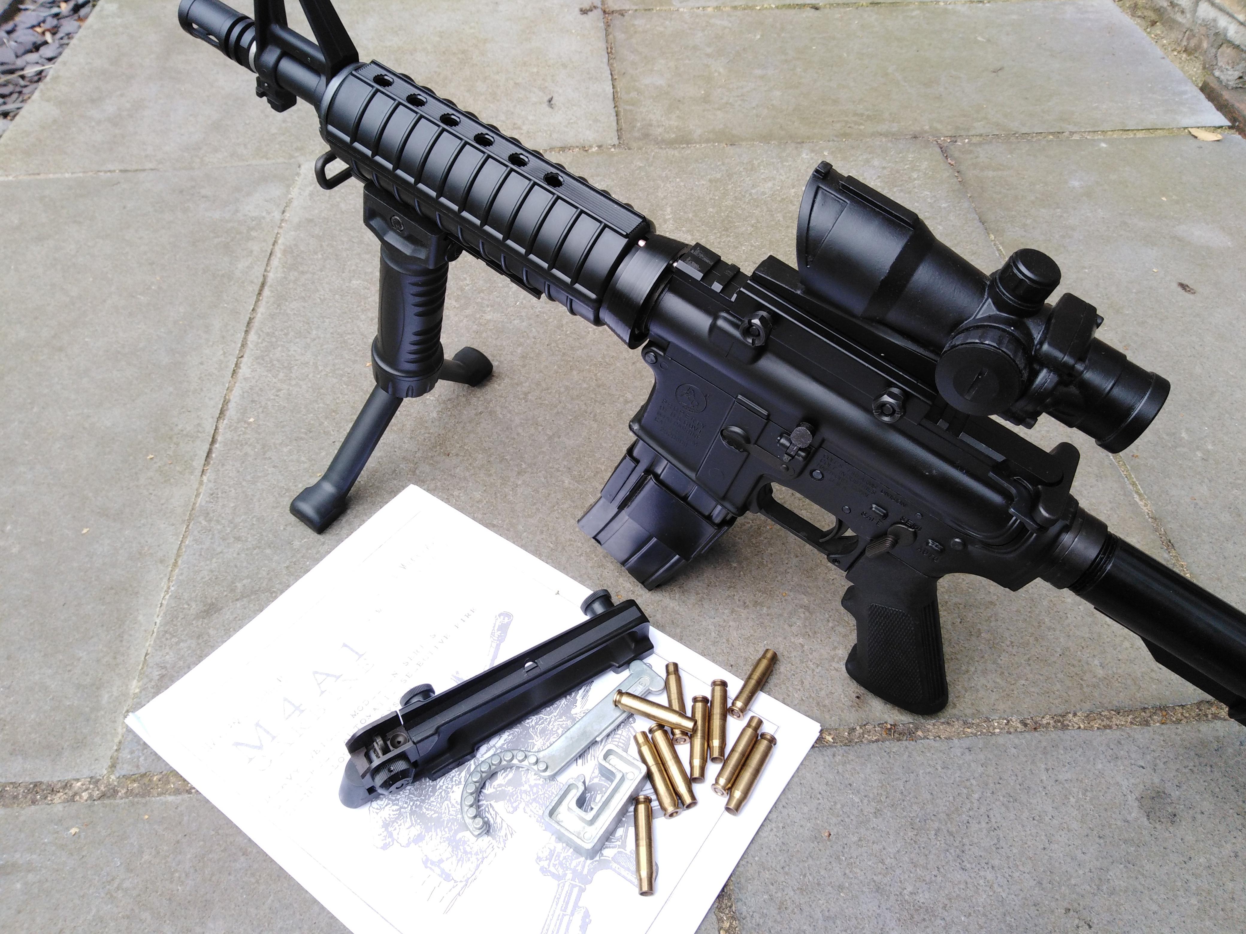 MGC Colt M4A1 FULL SET !!!