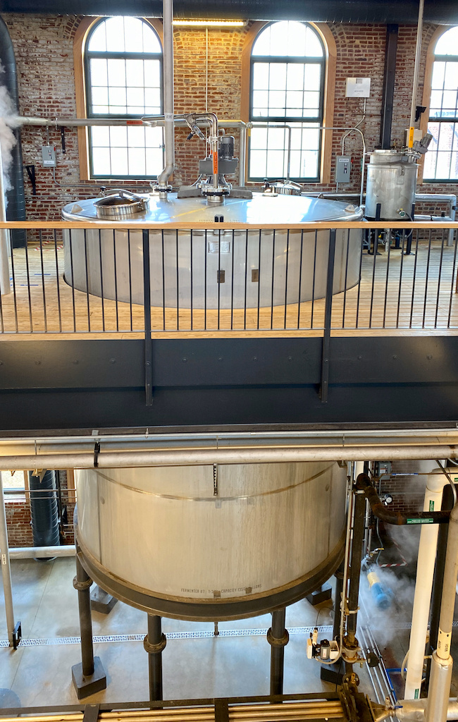 Fermentation Tank - Angel's Envy Angel's Envy Distillery