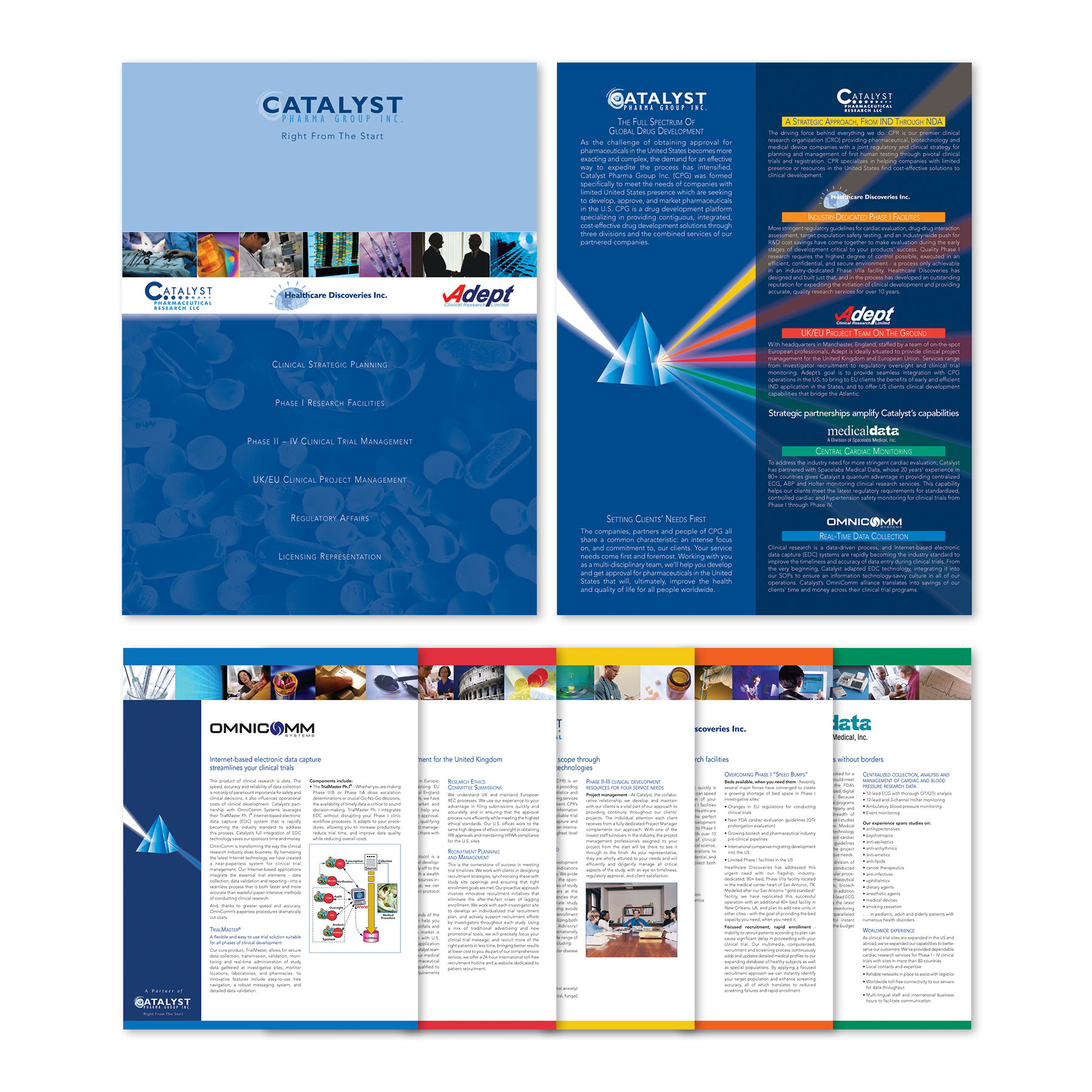 Catalyst Pharma Group Folder with Inserts
