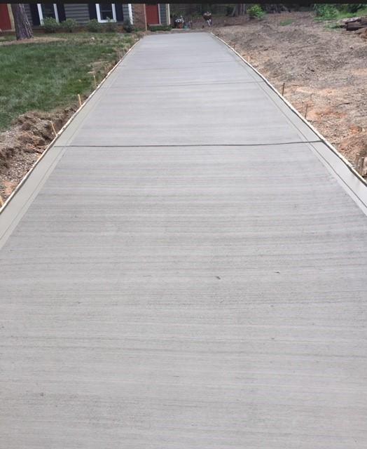 New Concrete Surface
