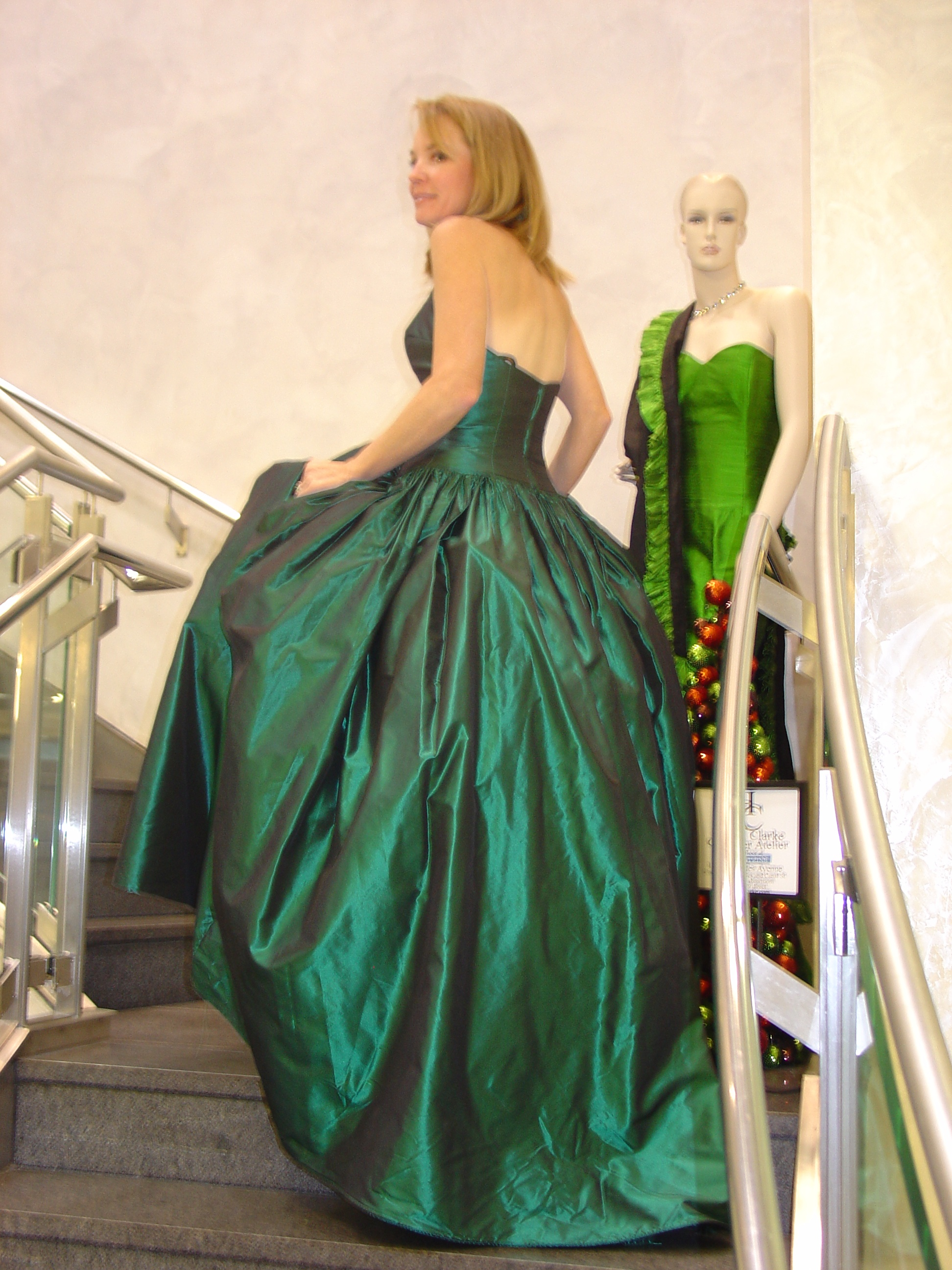 Beautiful Party Wear Gown By Harold Clarke