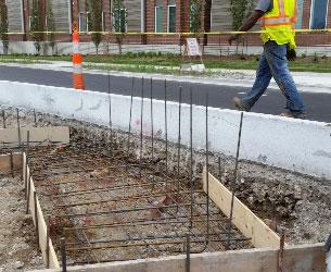 Concrete Construction Project