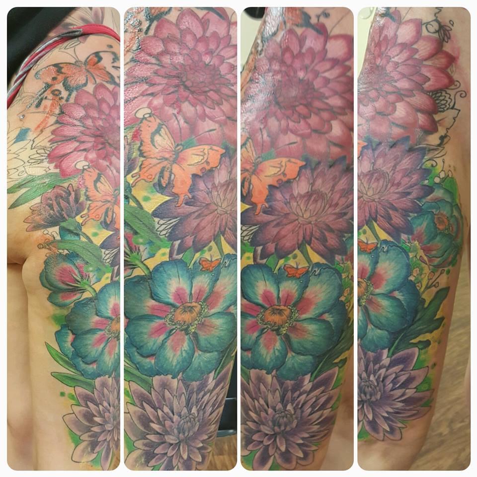 Flowers, pastel