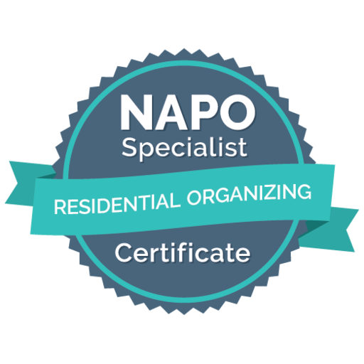 NAPO Residential Organizing Badge