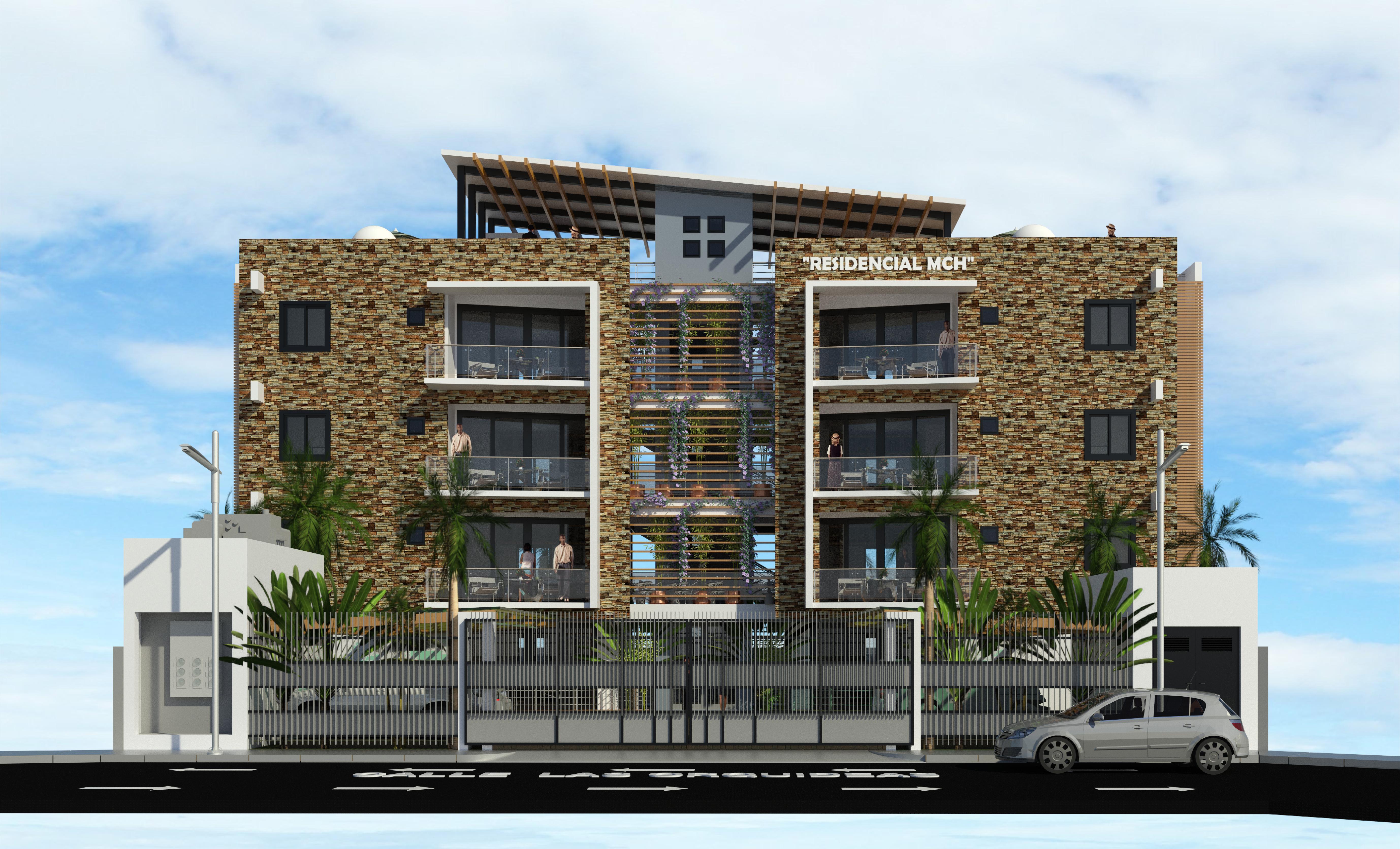Residencial MCH, Edificio de 8 Apartamentos, Puerto Plata, R.D.