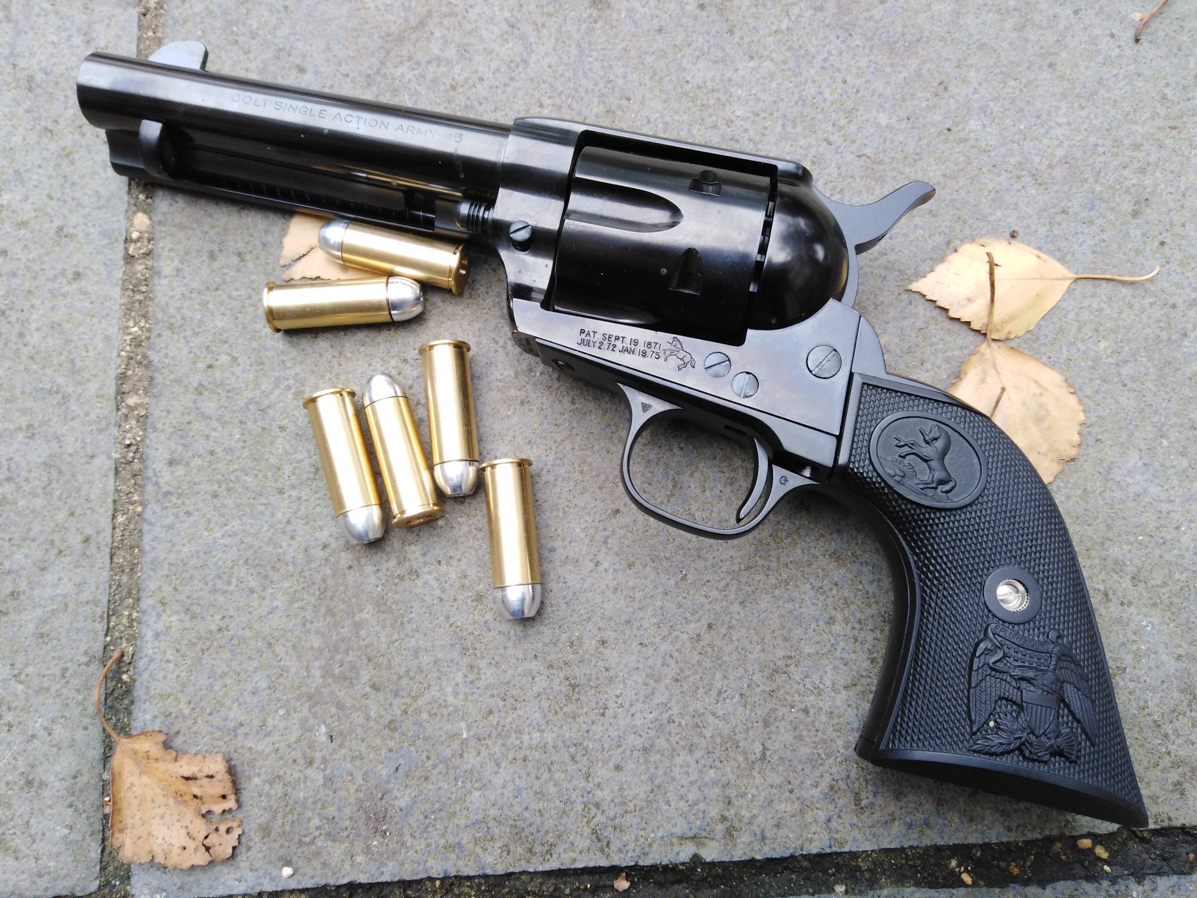 """Steel Finish"" Colt .45 SAA *SOLD*"
