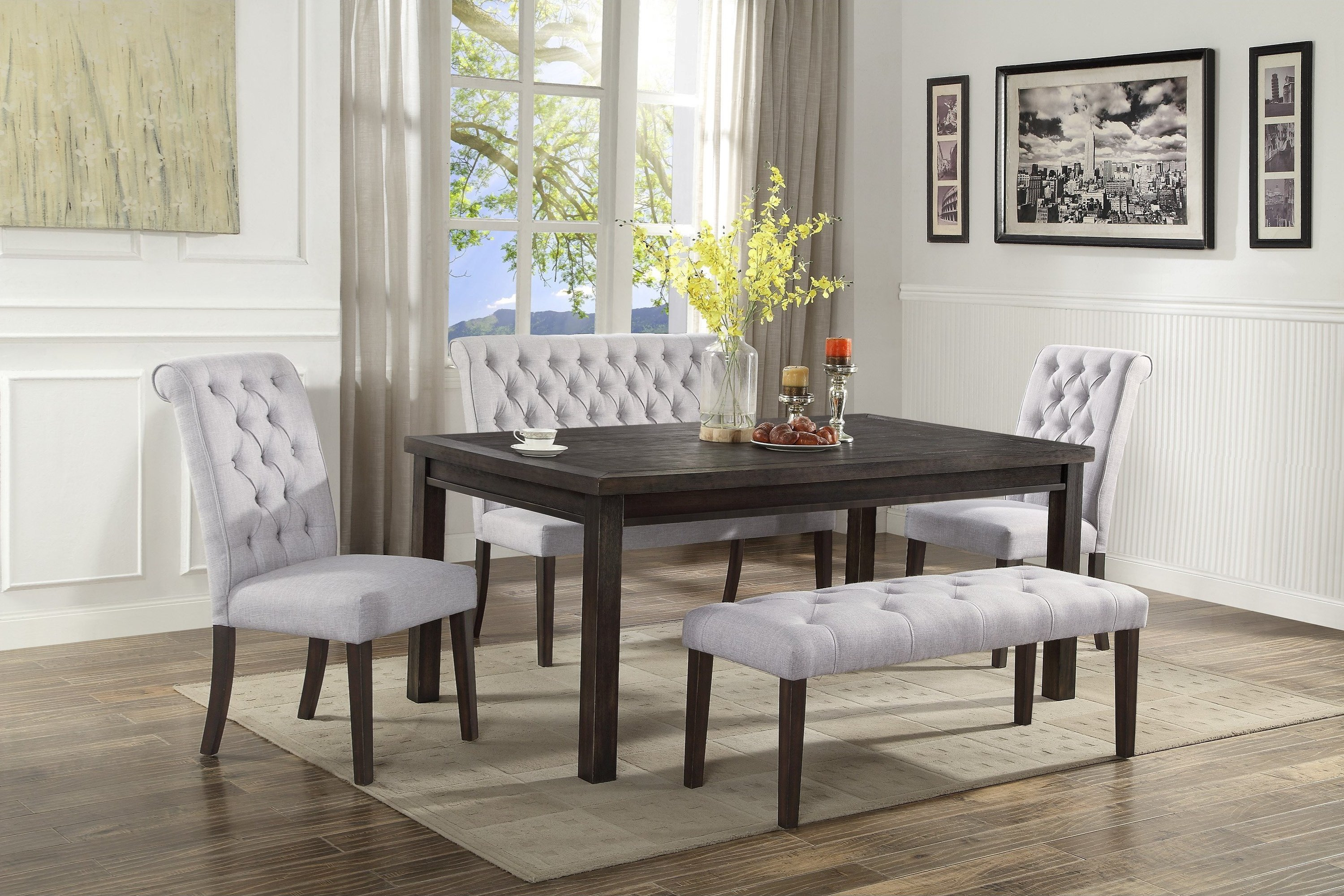 Palmer C M 2022 5 Piece Dinette Table