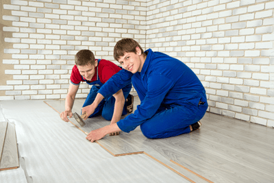 Laminate Floor Covering, Perform Repairs