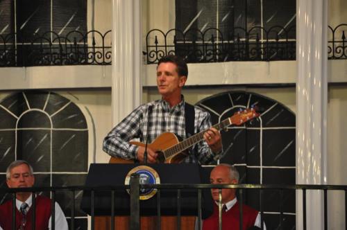 Guest Singer, Bruce Frye