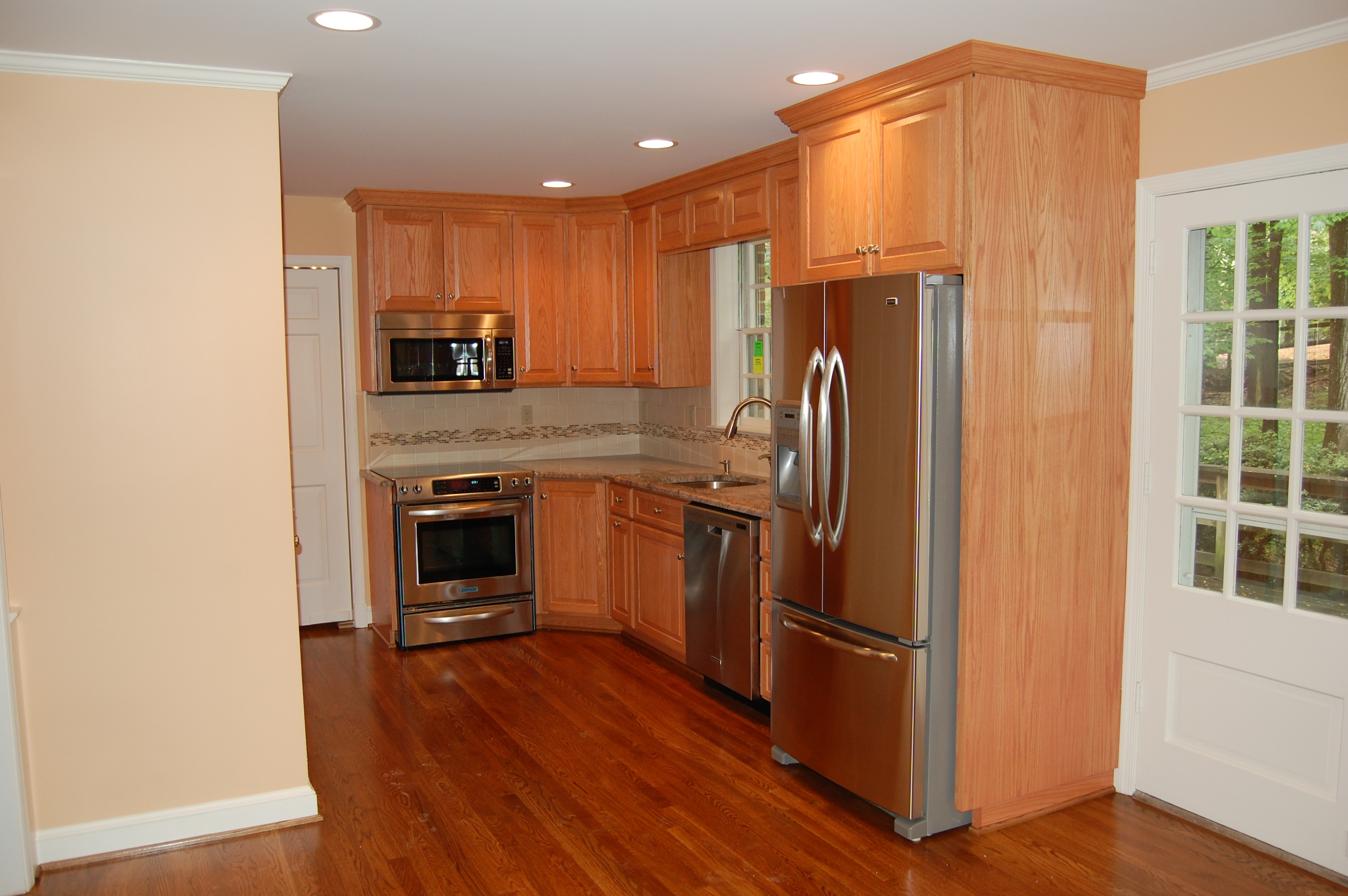 kitchen remodel after A