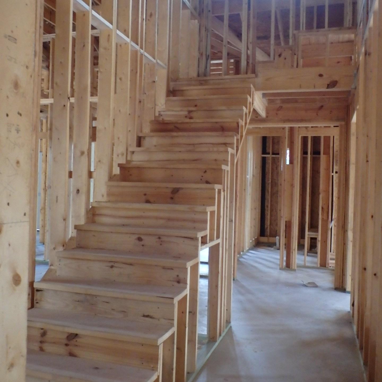 Wooden Stairwell 2