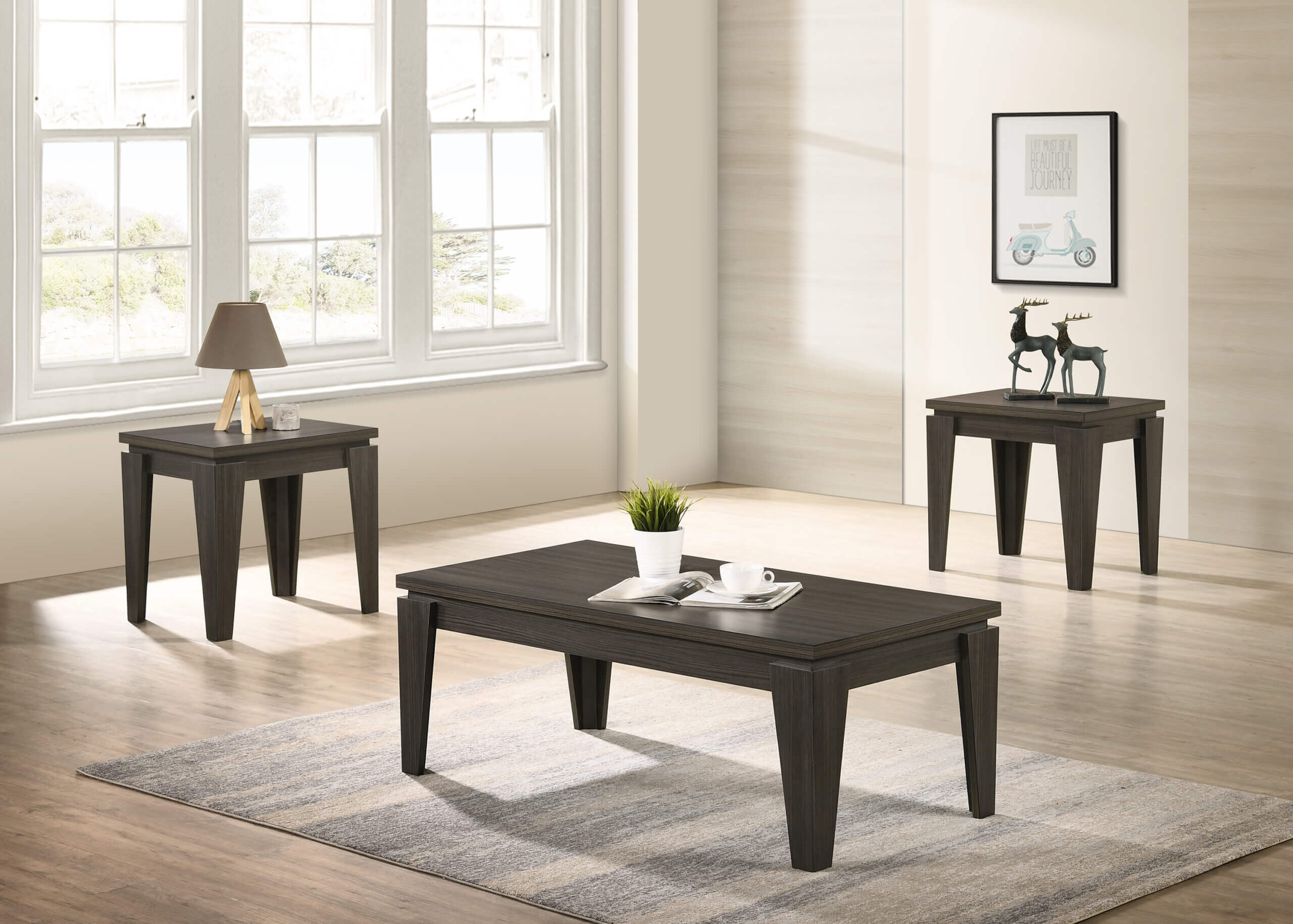 4210 Della Coffee Table Set