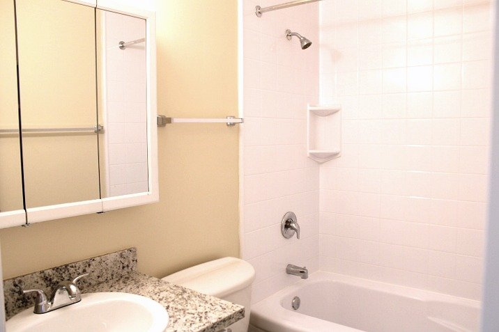 It will also have a new granite countertop in the bathroom and a new vanity cabinet