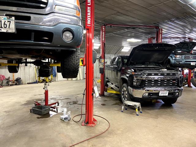 Repairs in Progress