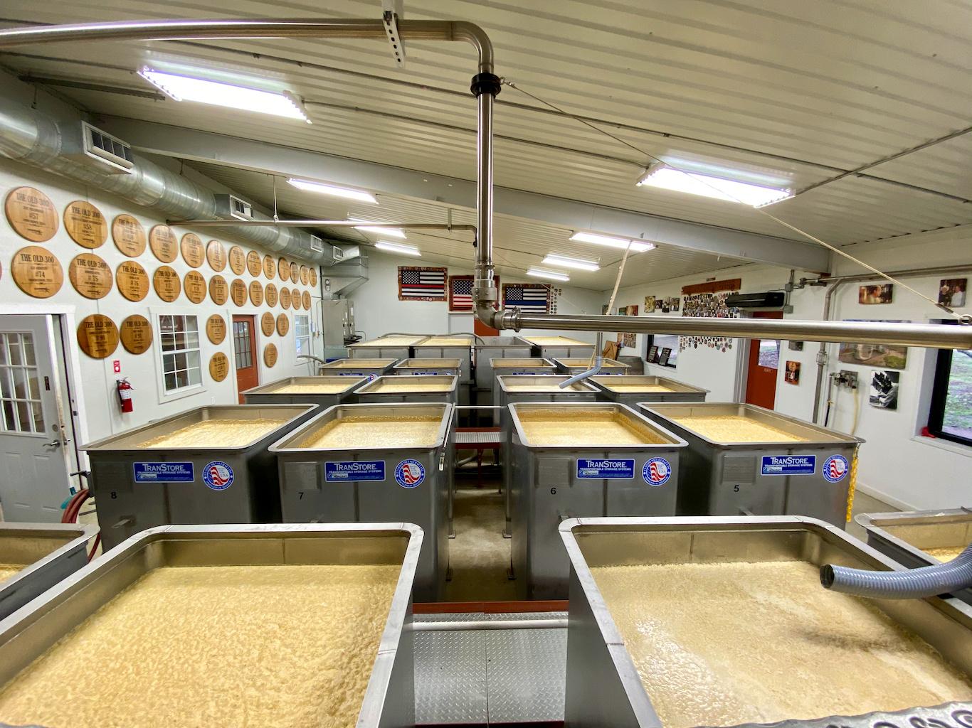 Fermenters - Garrison Brothers Distillery