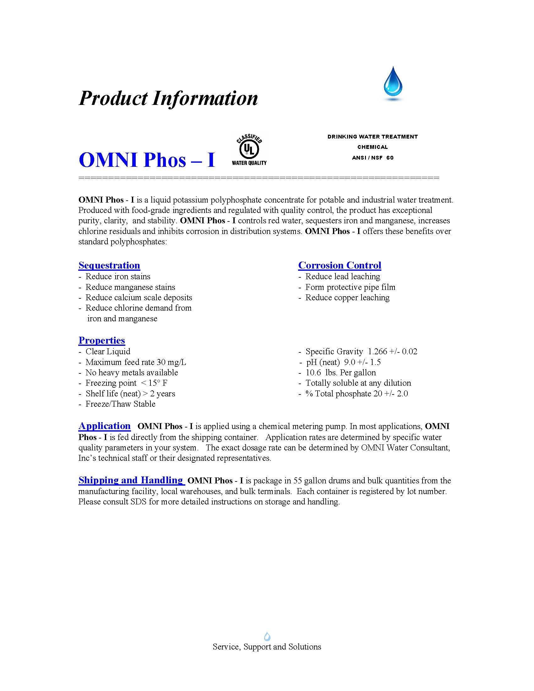 OMNI Phos-I Product Sheet