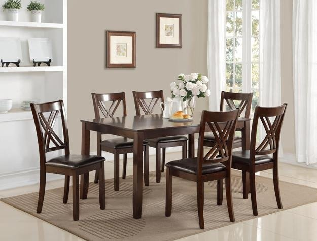Casual Wood Dining Room; Click Here!