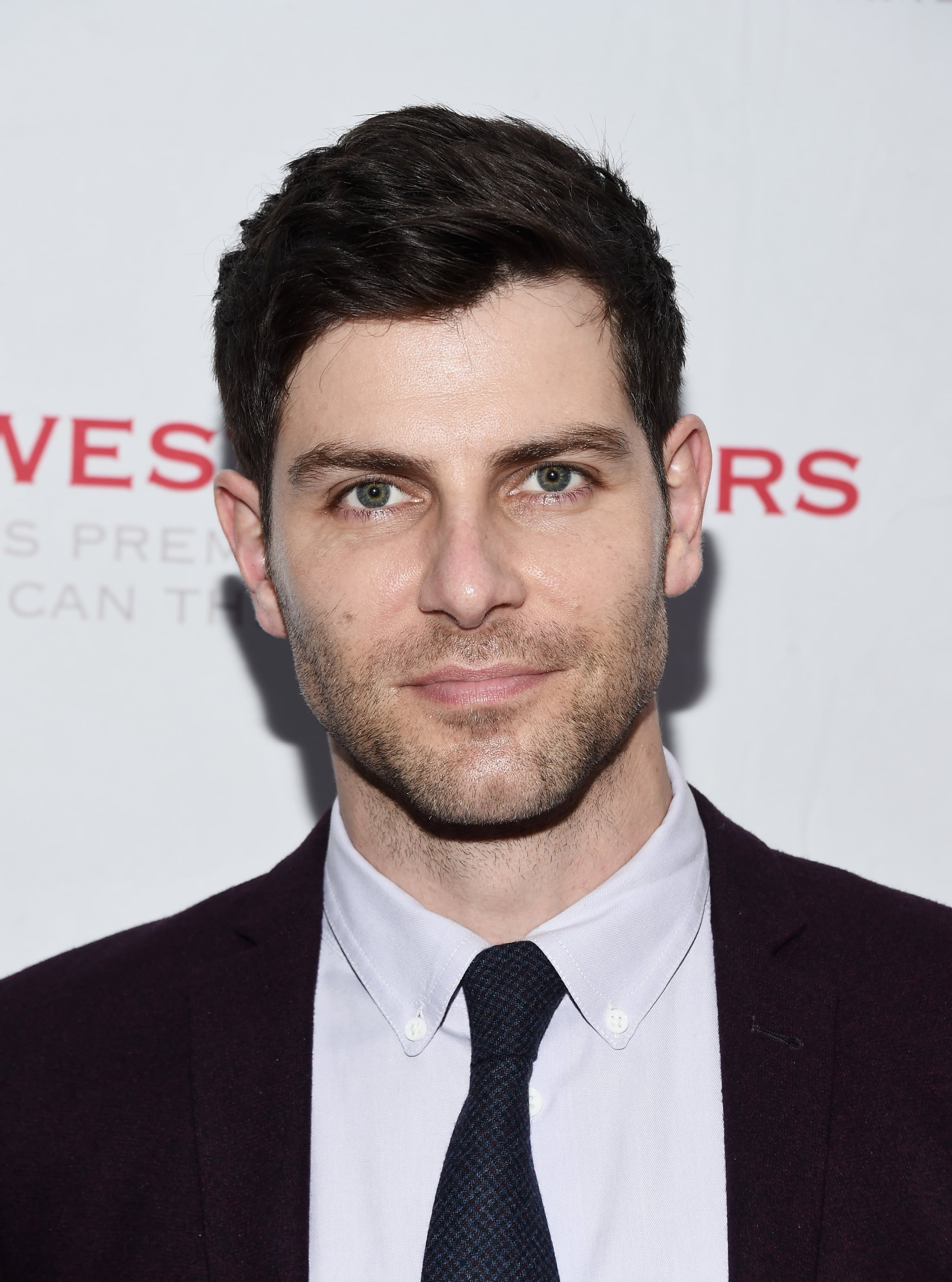 David Giuntoli, hair styled by Nathan Sager.