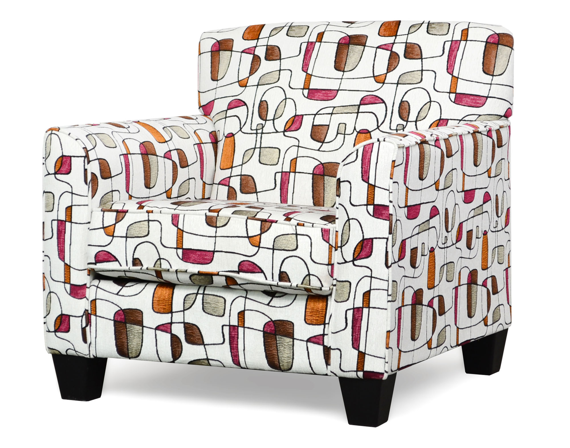 900 Sara Fushia Accent Chair