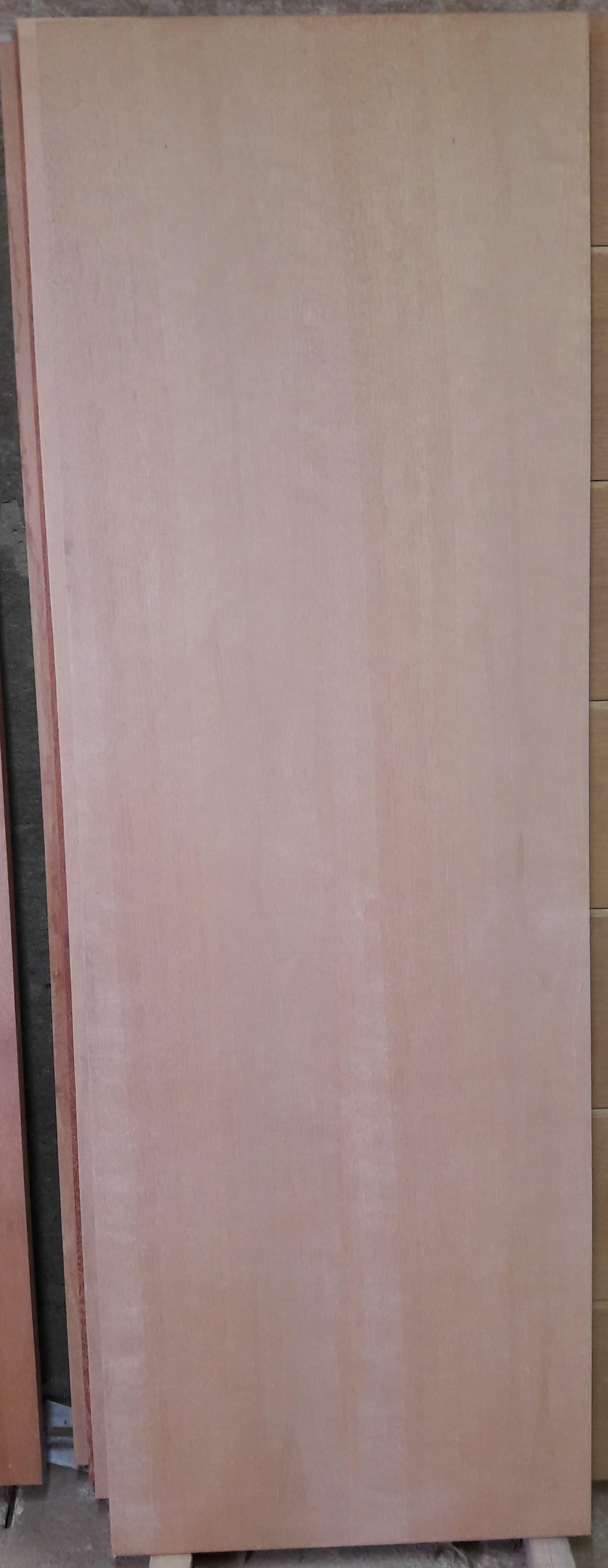 Porta 204 - Crua (sem verniz) e lamina de curupixa.