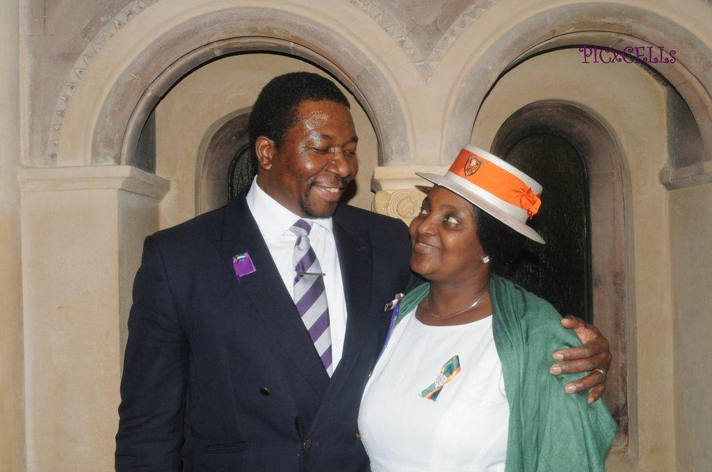 Regentonian & AWOGA Union Mr. & Mrs. Charles Max-Macarthy