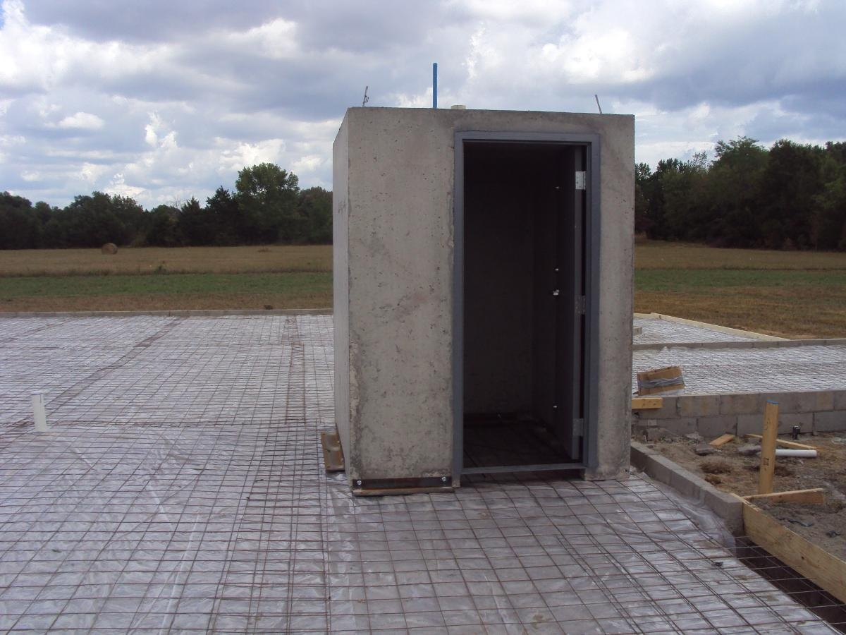 Precast Concrete Safe Room