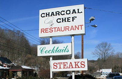 Outdoor Restaurant Signage