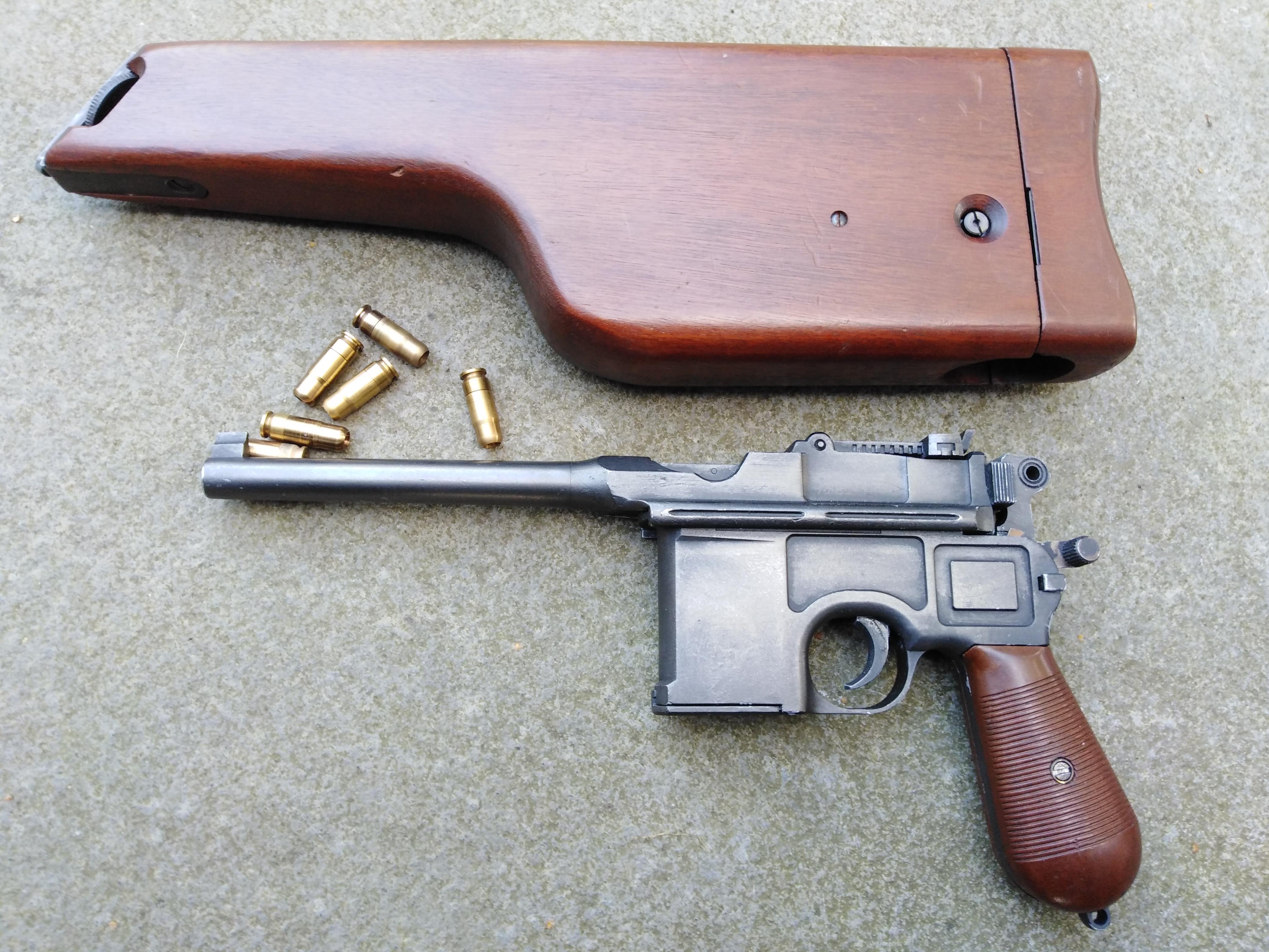 MGC Mauser C96 + Stock/Holster